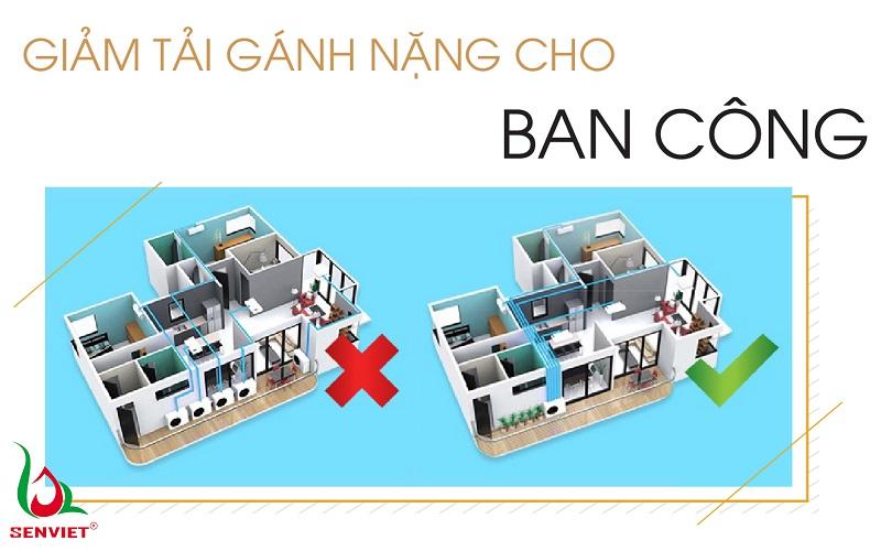 Lựa chọn giải pháp điều hòa thông minh sẽ giúp tiết kiệm không gian cho căn hộ cao cấp