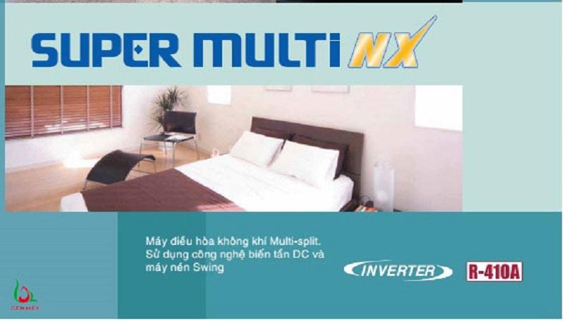 Điều hòa multi Super Multi NX