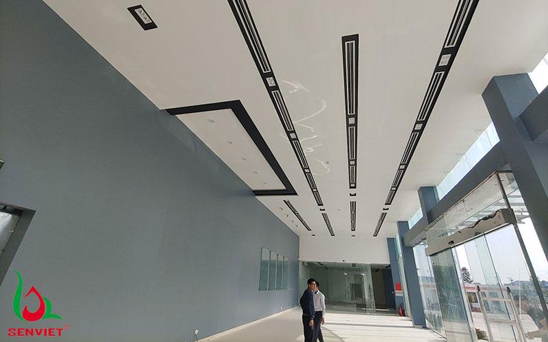Hệ thống điều hòa trung tâm Daikin tại nhà máy Tân Hà Phát - Hà Yến