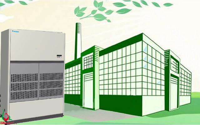 Giải pháp điều hòa không khí nối ống gió hoàn hảo cho nhà xưởng