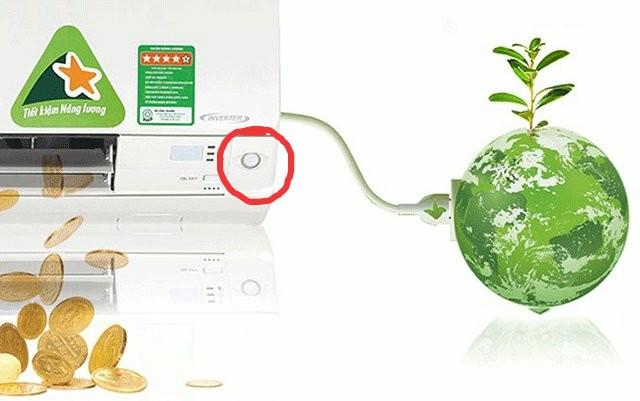 Điều hòa Daikin trang bị mắt thần thông minh có khả năng tiết kiệm điện hiệu quả.